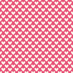 Valentine day seamless pattern. illustration