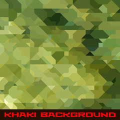 Khaki background with geometric stains
