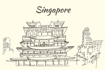 The Buddha Tooth Relic Temple - - Singapore