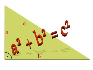Satz des Pythagoras, Geometrie, Mathematik