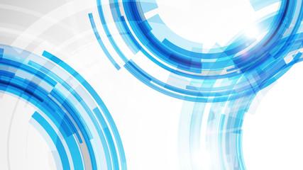 Fototapeta niebieskie koła tło wektor