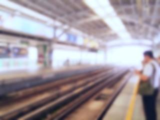 Blur station background