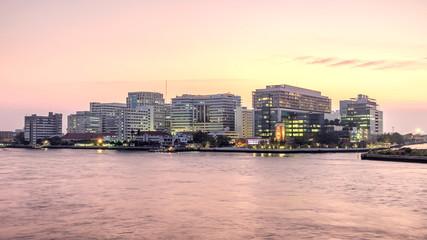 Siriraj Hospital on the Chao Phraya River