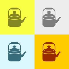 Icon Of Tea Kettle.