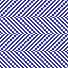 Blue Herringbone Fabric Seamless Pattern in Vector