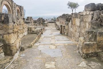 Ancient city ruins of Medina Azahara, Cordoba, Spain