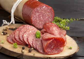 traditional salami