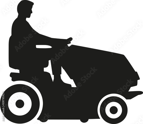 "lawn mower silhouette"" stock image and royalty-free vector files"