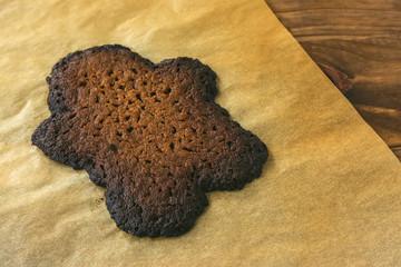 Burned Gingerbread Cookie Man