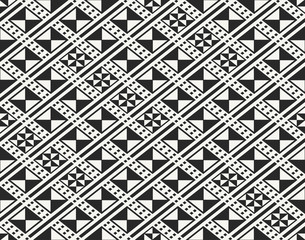 Traditional ancient African fabric textile design, structure of