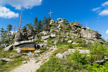 Gipfel Dreisesselberg