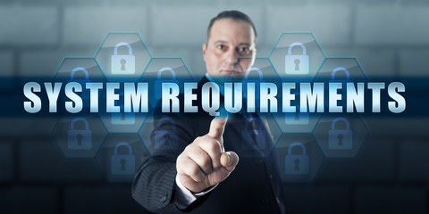 Management Director Pushing SYSTEM REQUIREMENTS
