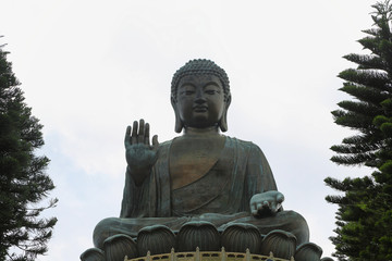 Big Buddha at Ngong Ping, Hong kong