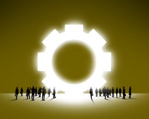 Concept of teamwork organization