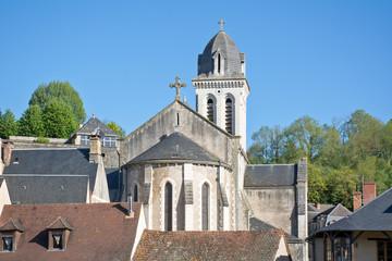 église à Montignac Lascaux en Dordogne