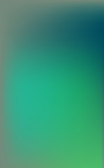 A smooth gradient from blue to green and turquoise gives this background a warm sea glow.