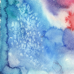 blue salted watercolor texture