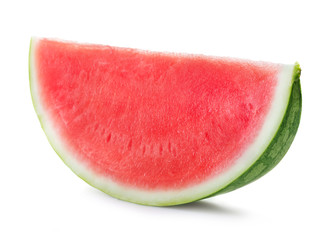 watermelon's slice isolated on white background