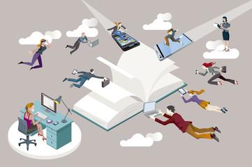 Libro abierto y nuevas tecnologías