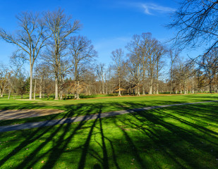Golf field in Algonkian regional Park, Virginia