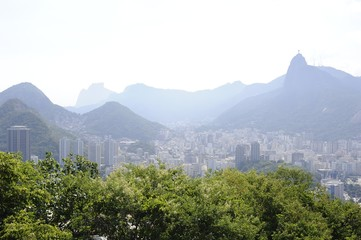 View from the Sugaloaf at Rio de Janeiro.