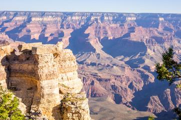 Grand Canyon National Park at sunset, Arizona, USA