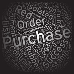 Purchase ,Word cloud art background