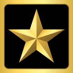 search photos gold star 3d