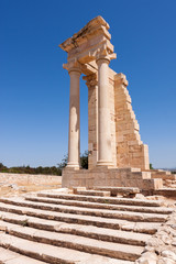 Temple of Apollo near Kourion Cyprus