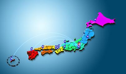 日本の主要都市