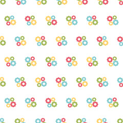 Building seamless pattern background.