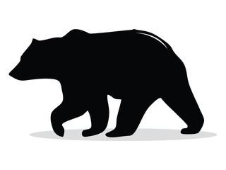 Bear Black Silhouette