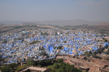 Jodhpur - blue city, Rajasthan is one of the largest forts in India
