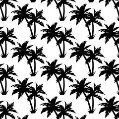 Palms Seamless Pattern