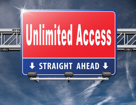 Unlimited access all areas no restrictions VIP membership..