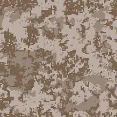 Desert digital camouflage