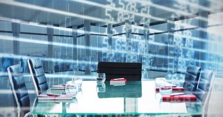 Composite image of boardroom