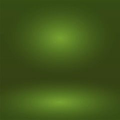 Abstract green gradient background. Used as background for product display