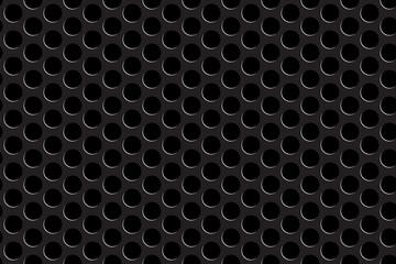 Metal grill seamless pattern
