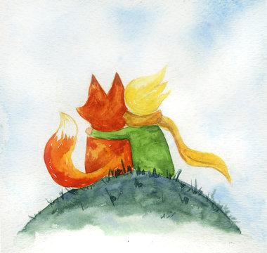 Little prince illustration