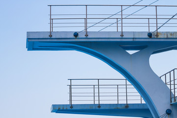 Olympic diving platform