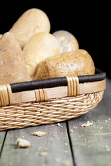 assorted french bread