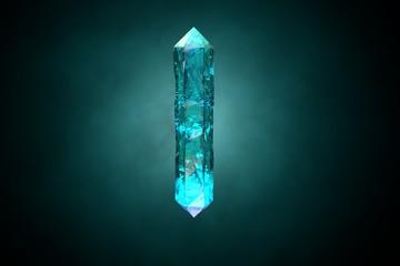 Blue Sapphire Crystal
