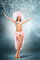 Poster Carnaval Beautiful dancer