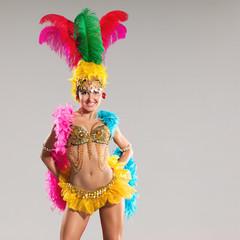 Poster Carnaval Samba dancer