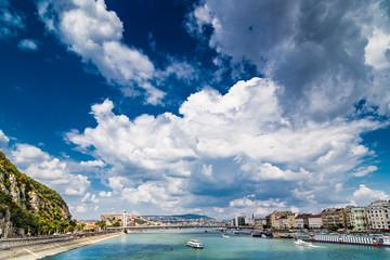 Tuinposter Algerije the sky over Budapest
