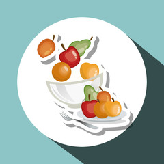 Healthy food design. organic food. natural product