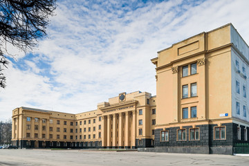 """Cheboksary, the building """"House of Government"""" on Lenin Avenue"""