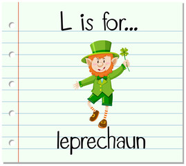 Alphabet  L is for leprechaun