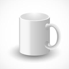 White cup illustration